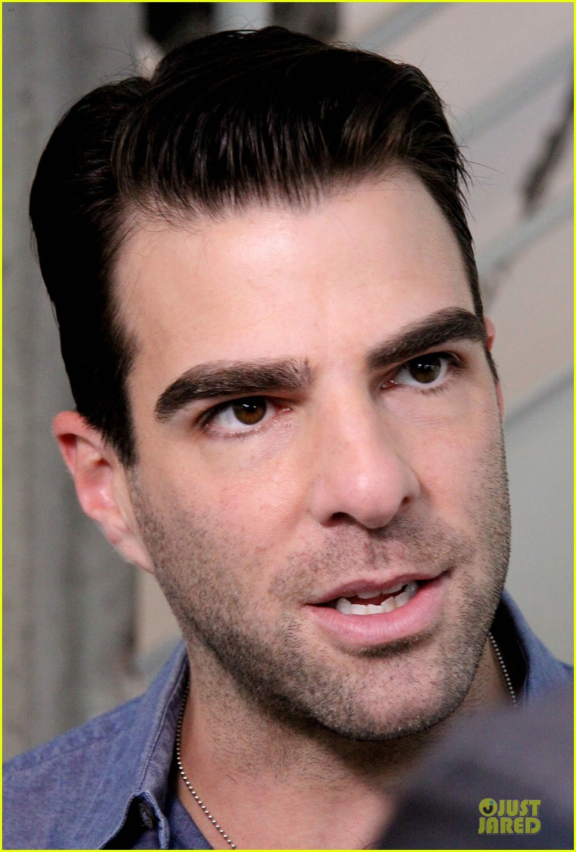 zachary quinto the glass menagerie media day 182934426