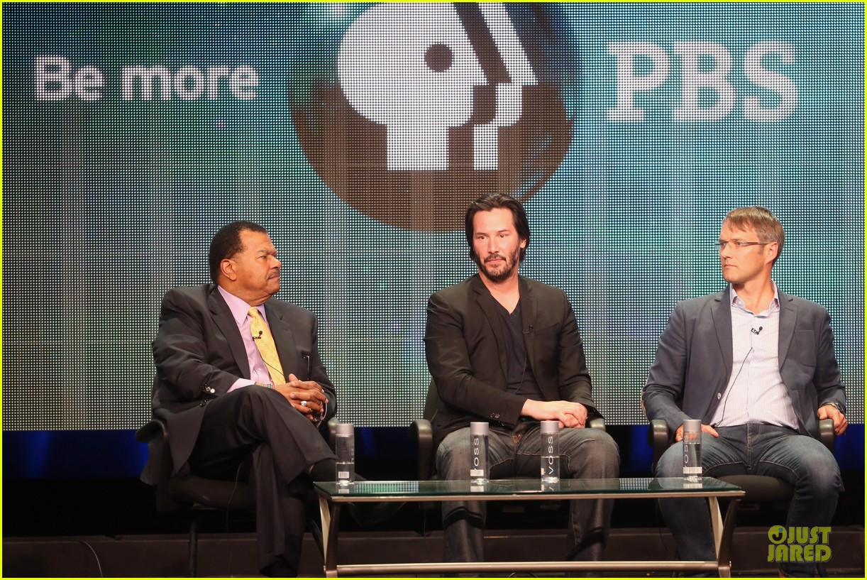 keanu reeves side by side at pbs summer tca tour 012925257