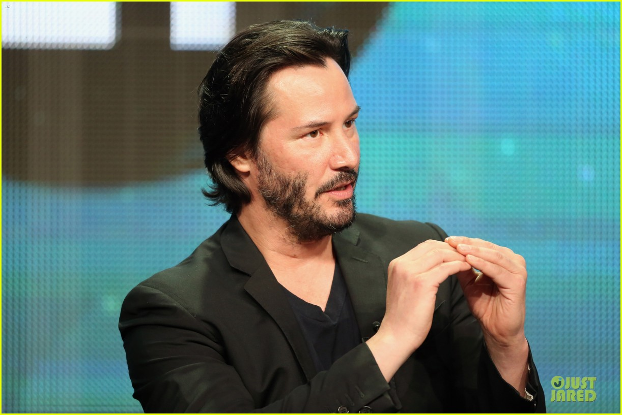 keanu reeves side by side at pbs summer tca tour 09