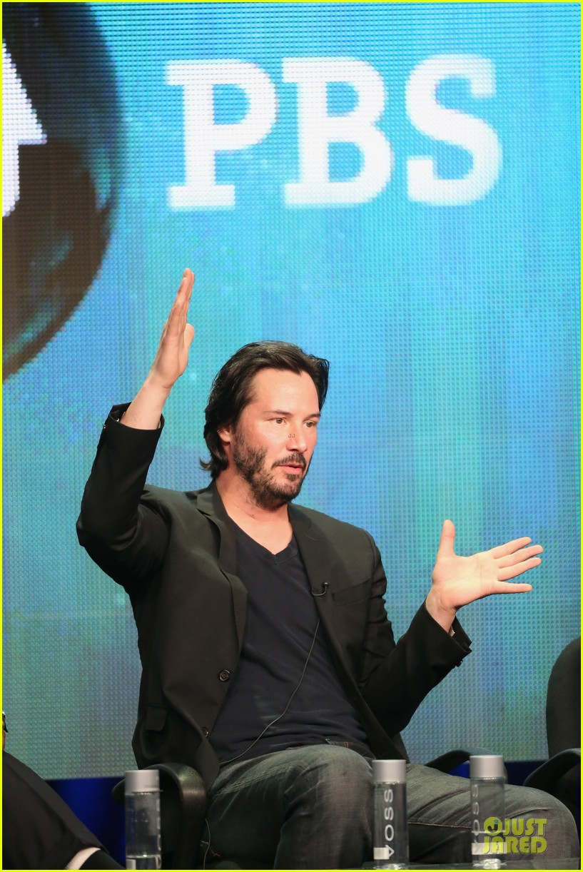 keanu reeves side by side at pbs summer tca tour 242925280