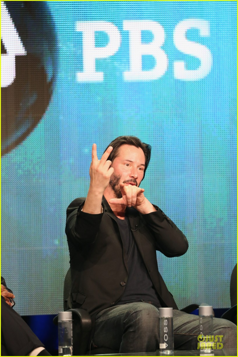 keanu reeves side by side at pbs summer tca tour 252925281