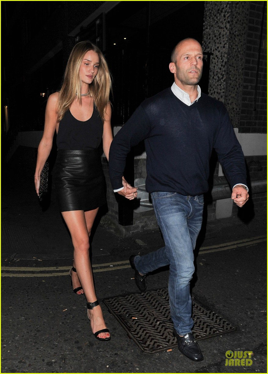 rosie huntington whiteley jason statham dressed up pair 012931712