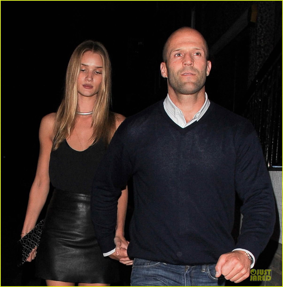 rosie huntington whiteley jason statham dressed up pair 022931713