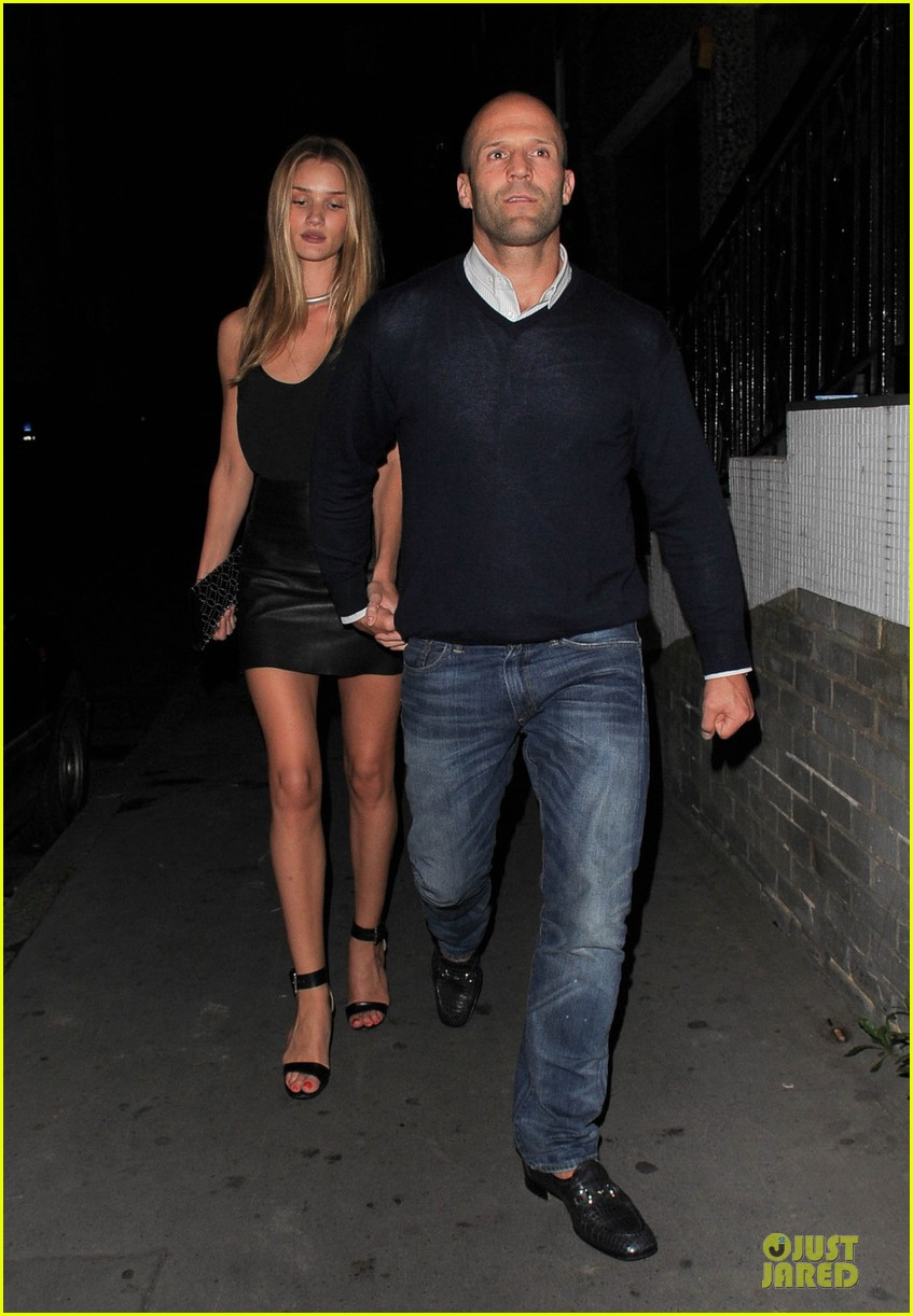 rosie huntington whiteley jason statham dressed up pair 06