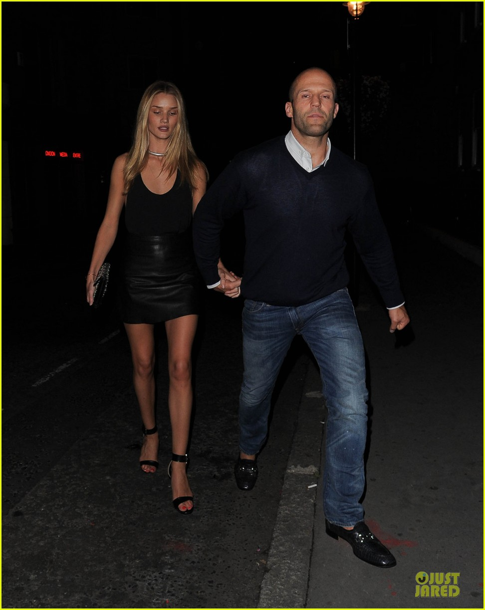 rosie huntington whiteley jason statham dressed up pair 072931718