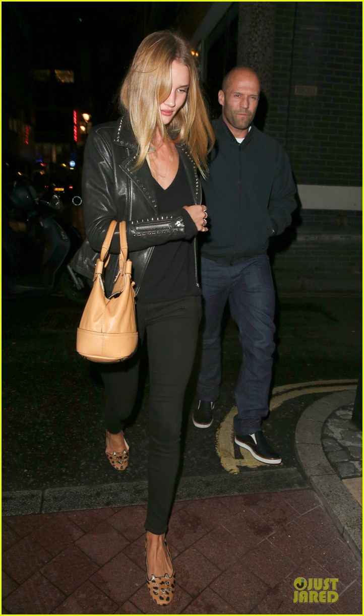rosie huntington whiteley jason statham hold hands after london dinner 032930328