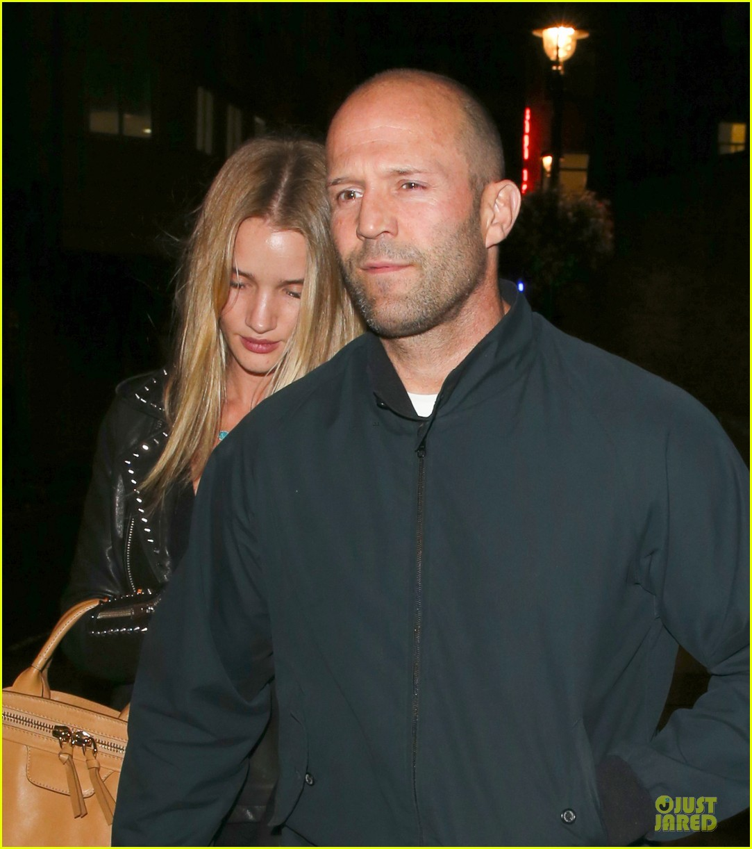 rosie huntington whiteley jason statham hold hands after london dinner 072930332