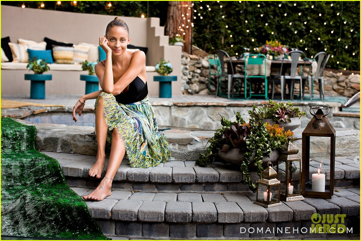 nicole richie supports simone camille trunk show 012940299