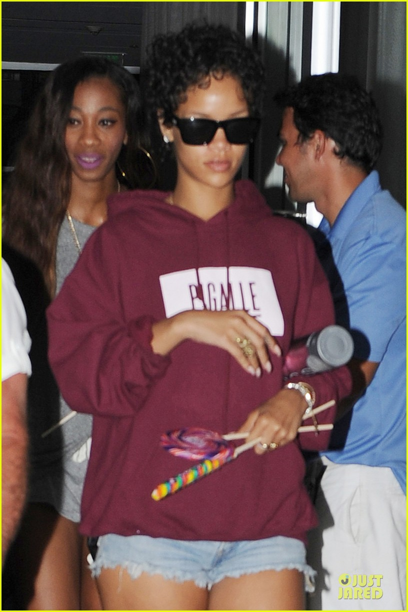 rihanna sports american flag for miami outing 022928338