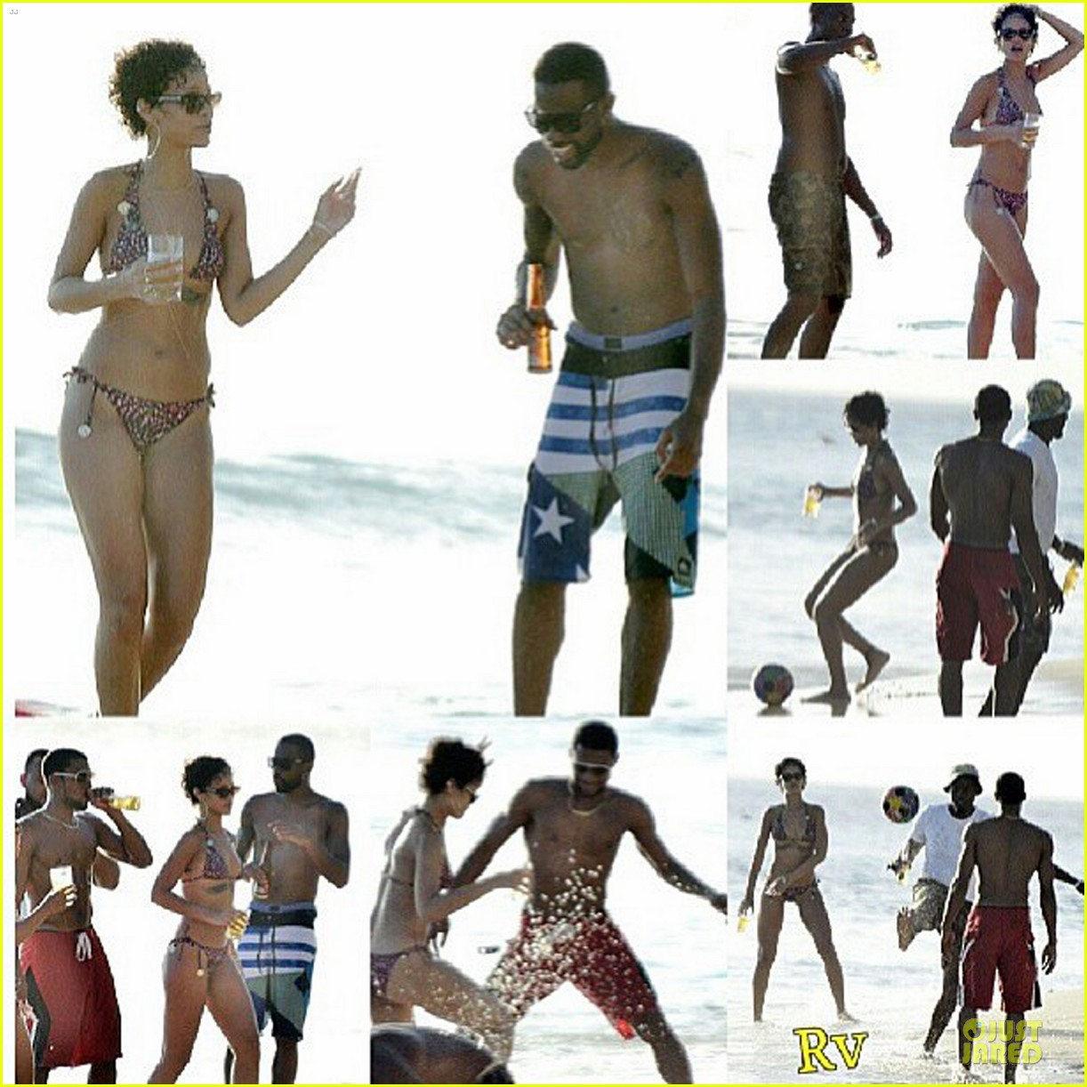 rihanna bikini clad vacation in barbados 03