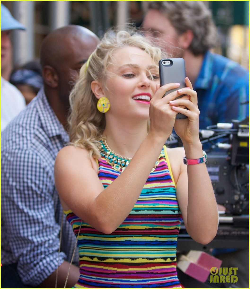 annasophia robb sarah jessica parker wished me luck 022940099