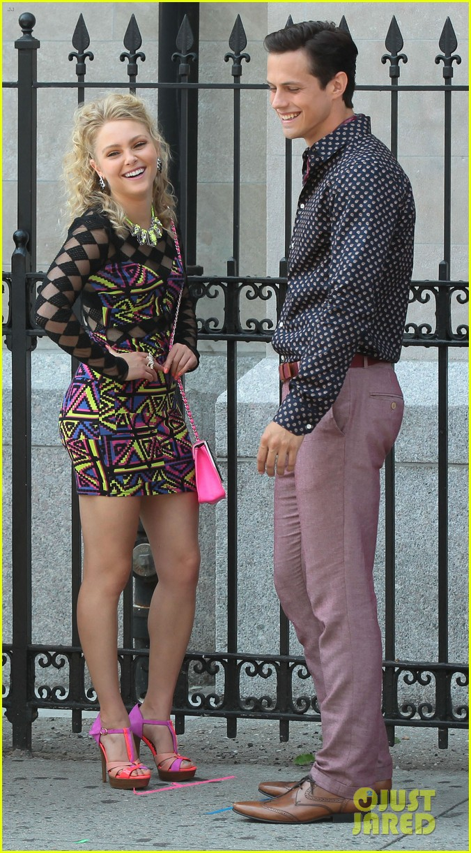 annasophia robb carrie diaries kiss with chris wood 122934632