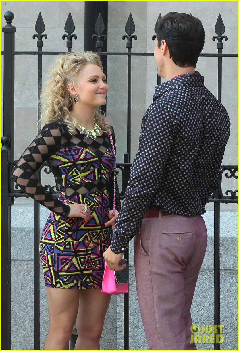 annasophia robb carrie diaries kiss with chris wood 152934635