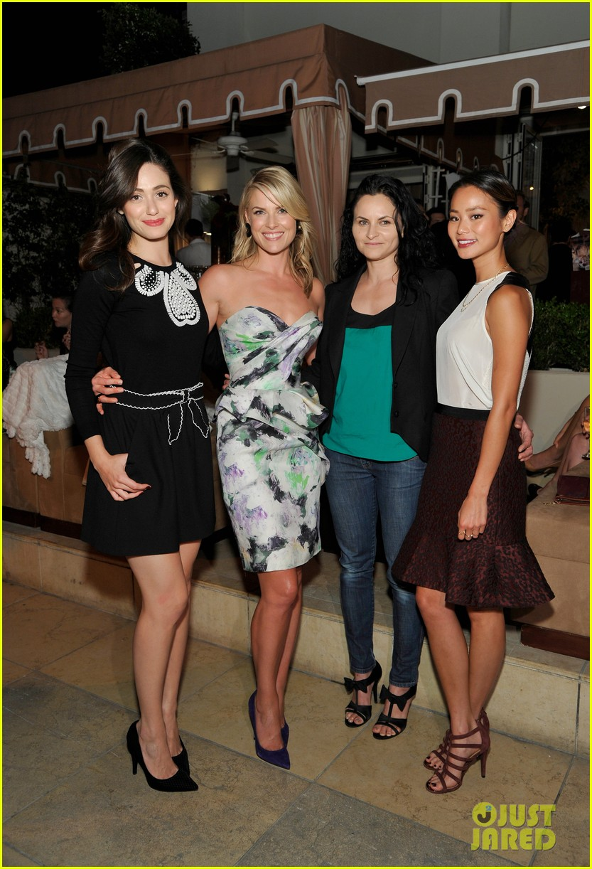 emmy rossum ali larters cookbook release party 032939346