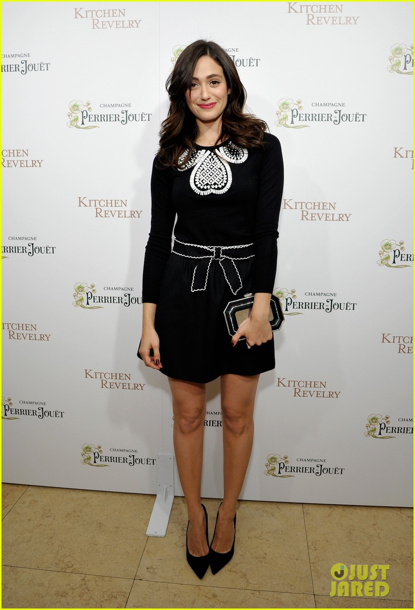 emmy rossum ali larters cookbook release party 062939349
