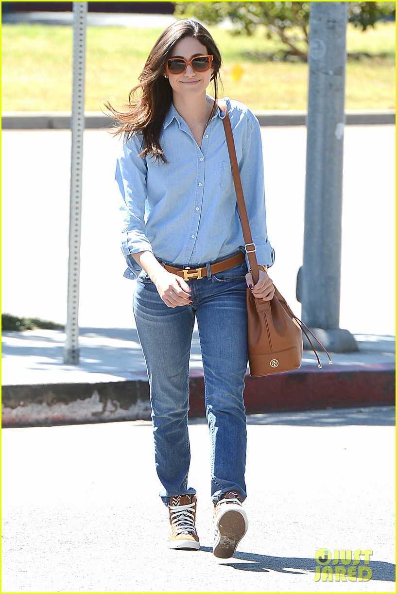 emmy rossum nesting is a happy activity 072940041