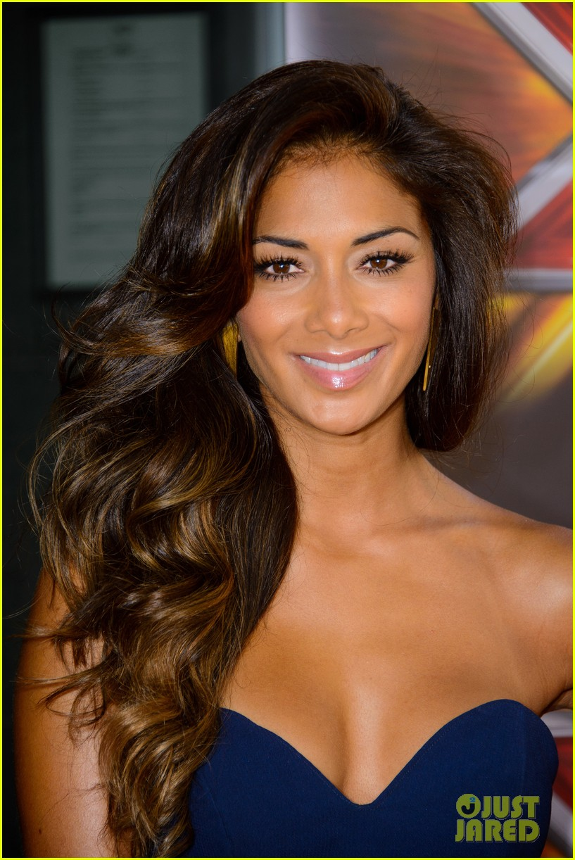 nicole scherzinger x factor uk season ten launch 012940508