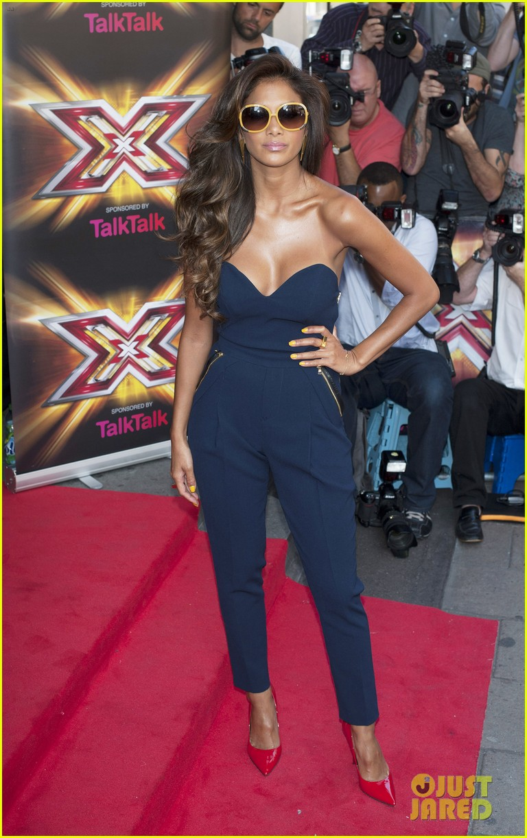 nicole scherzinger x factor uk season ten launch 11