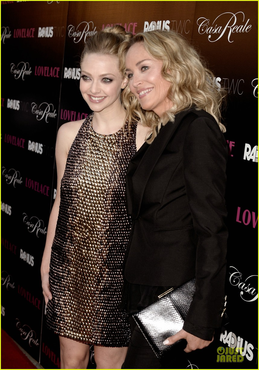 amanda seyfried sharon stone lovelace hollywood premiere 122924554