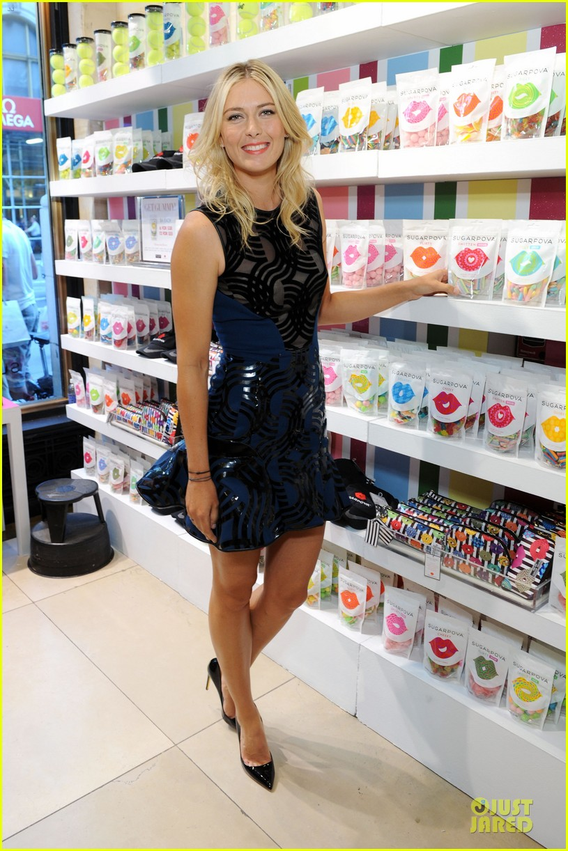 maria sharapova sugarpova accessory collection launch 082934486