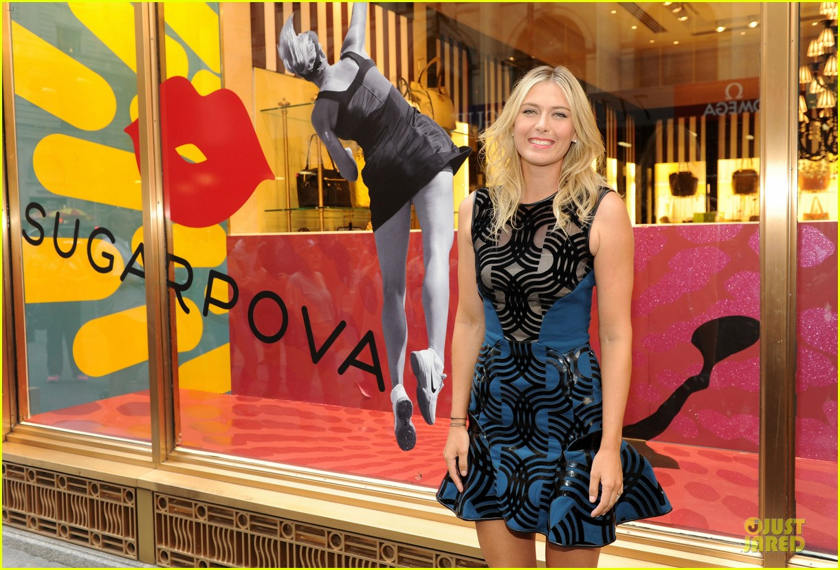 maria sharapova sugarpova accessory collection launch 122934490