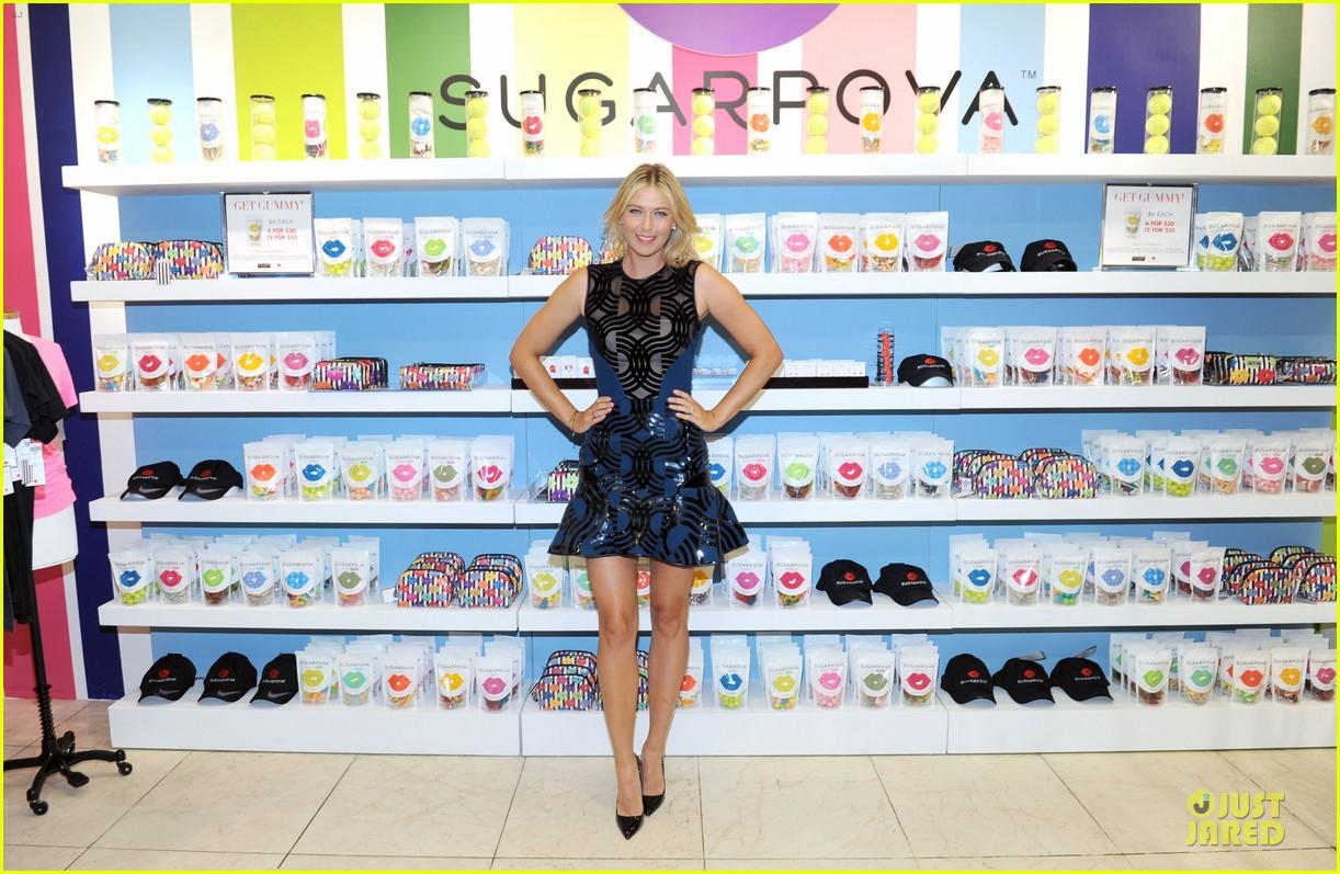 maria sharapova sugarpova accessory collection launch 132934491