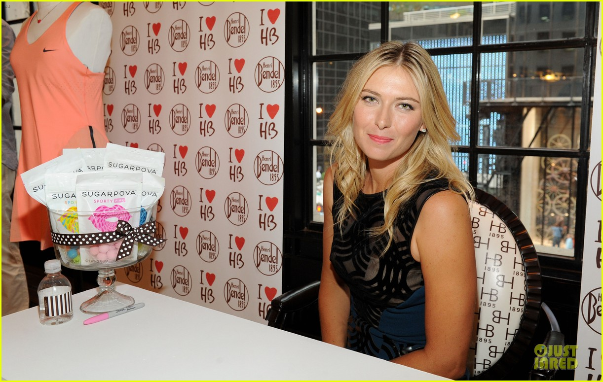 maria sharapova sugarpova accessory collection launch 152934493