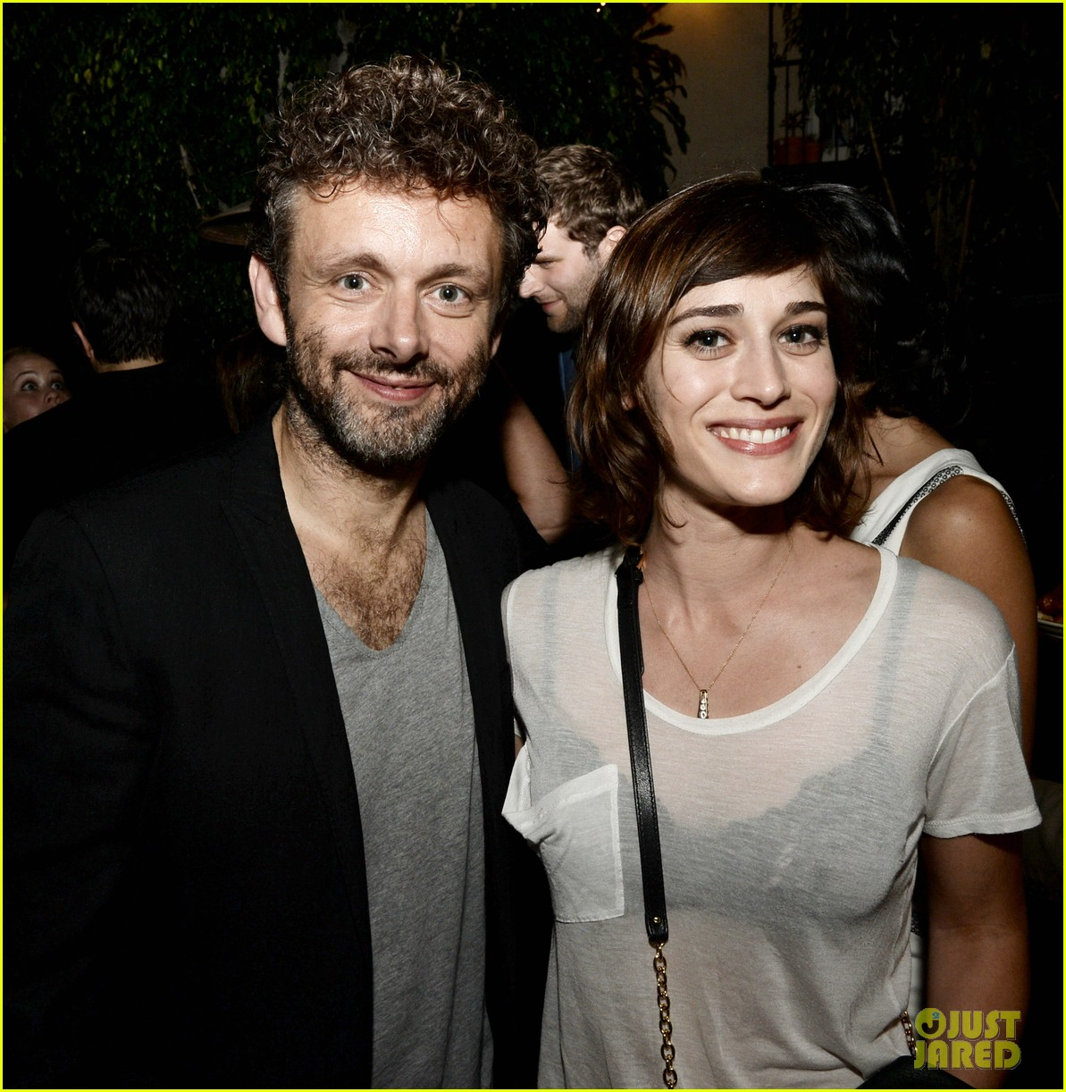 michael sheen lizzy caplan worlds end after party 022935503