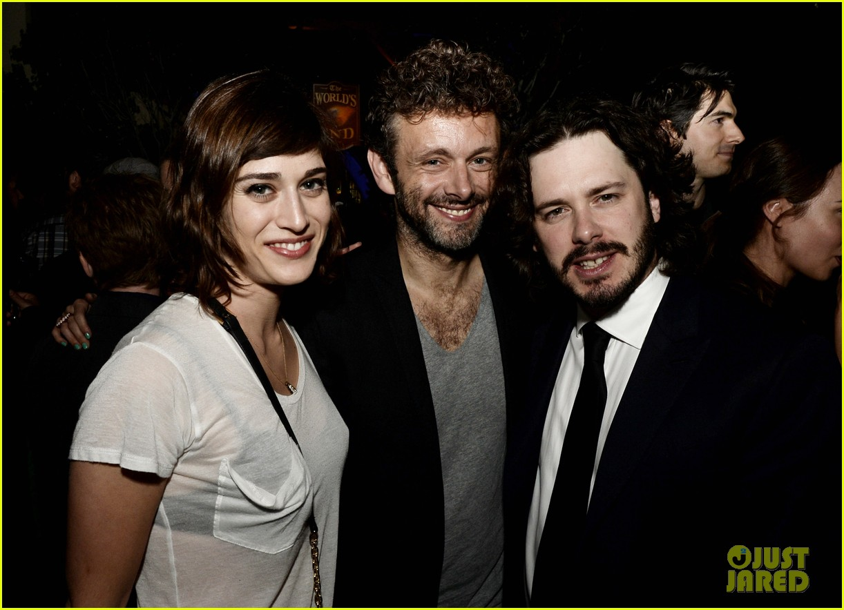michael sheen lizzy caplan worlds end after party 04