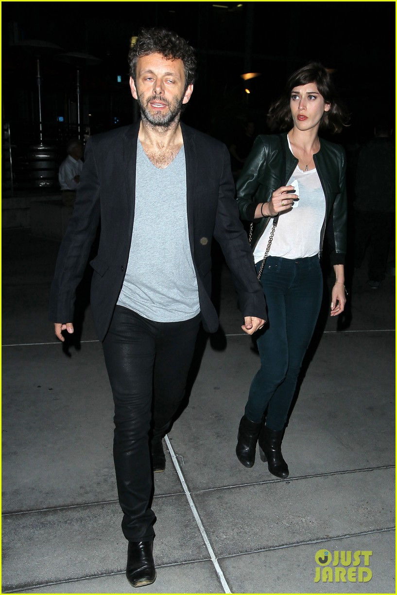 michael sheen lizzy caplan worlds end after party 112935512