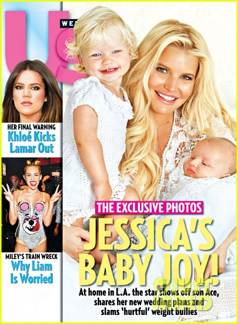 jessica simpson debuts baby ace knute 012939321