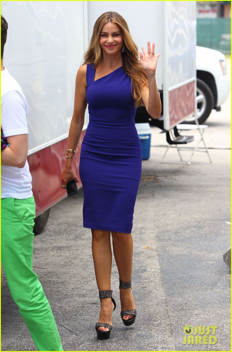 sofia vergara films chef in miami 212928606