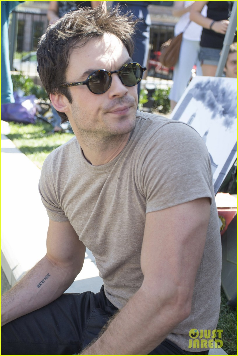 ian somerhalder rallies with sierra club in north carolina 032937221