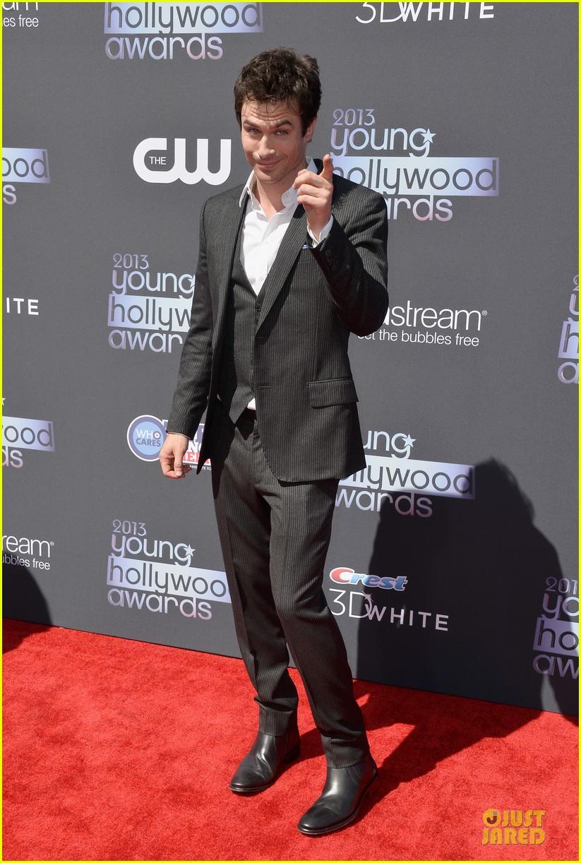 ian somerhalder young hollywood awards 2013 red carpet 012921746