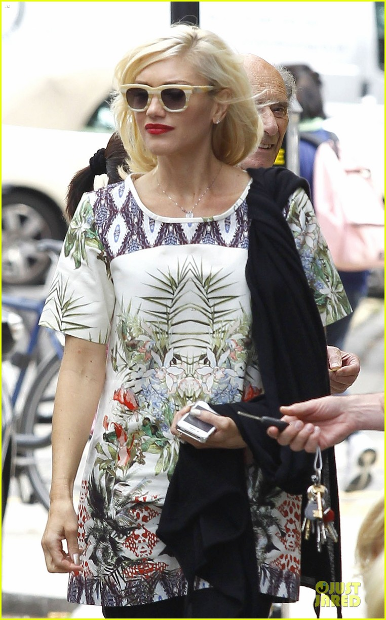 gwen stefani gavin rossdale lunch with the parents 19