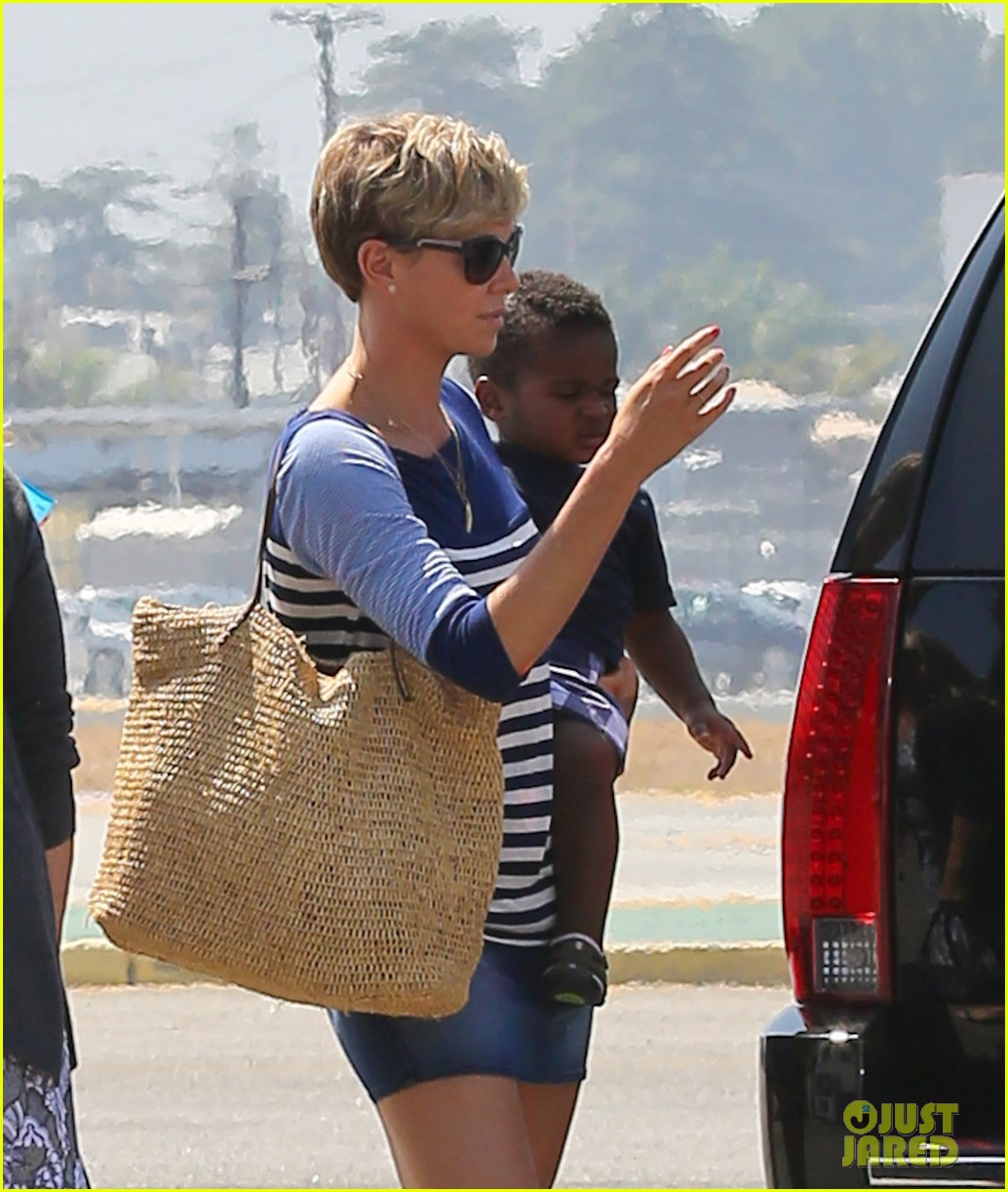 charlize theron jackson depart in los angeles together 022924862