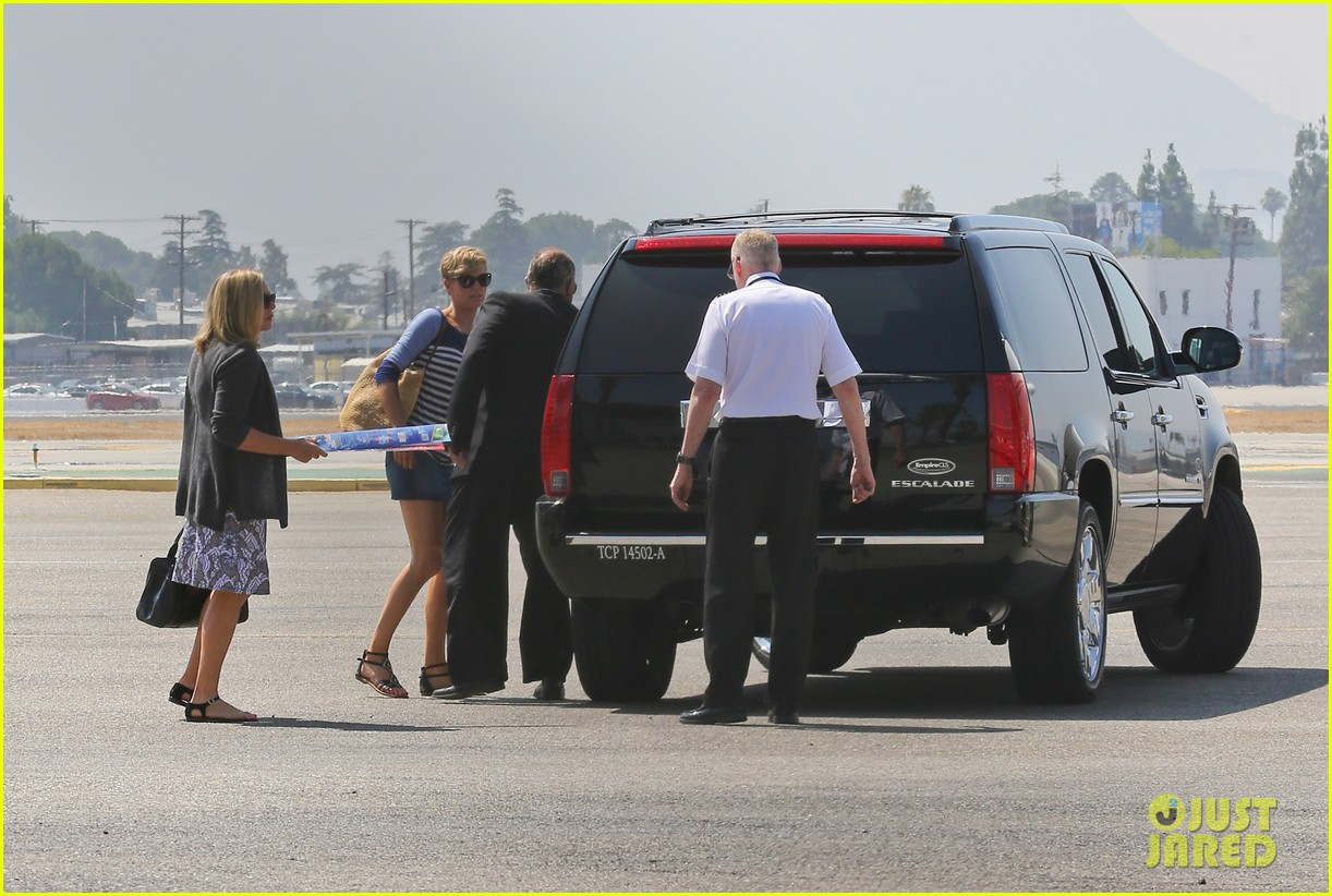 charlize theron jackson depart in los angeles together 062924866