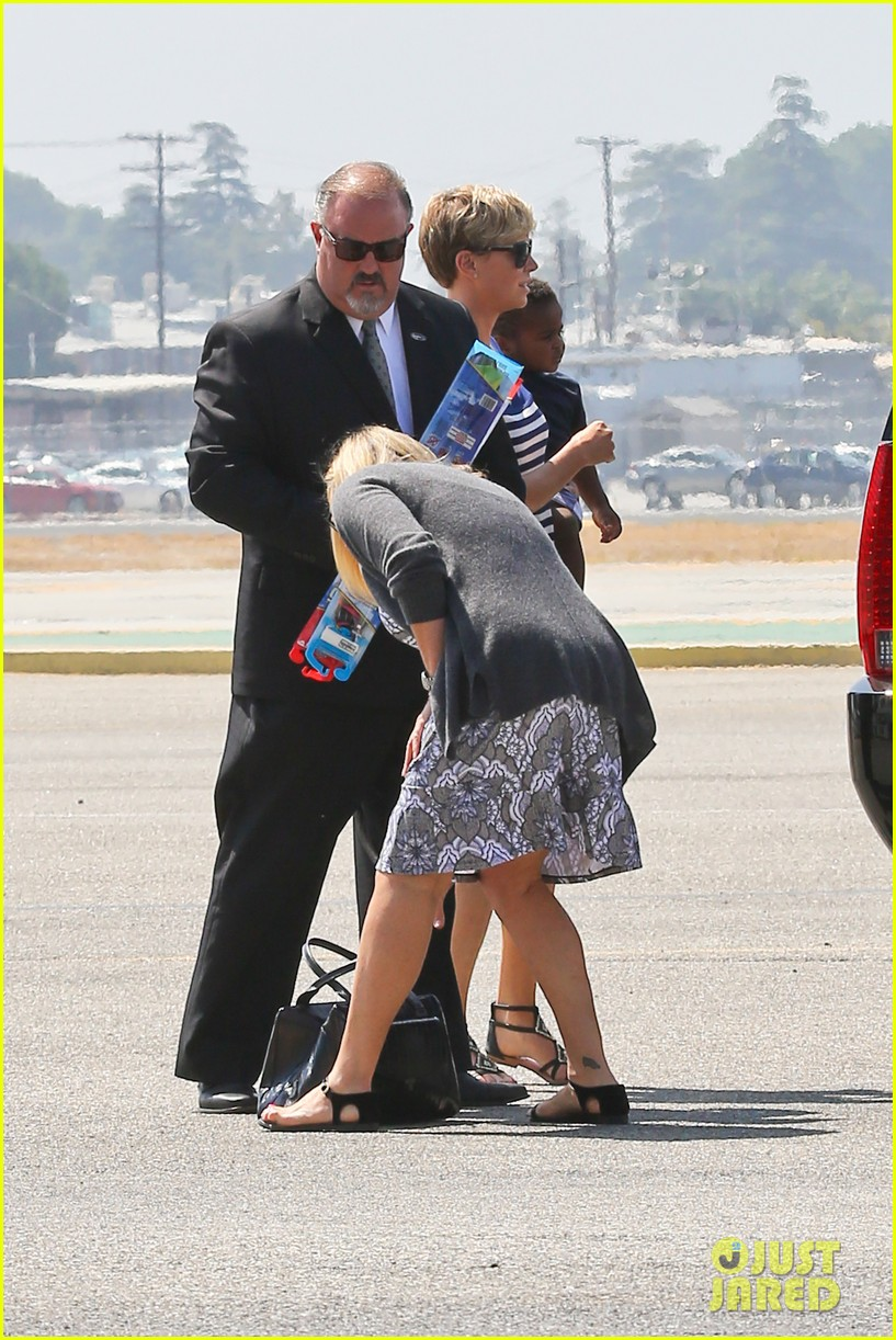 charlize theron jackson depart in los angeles together 072924867