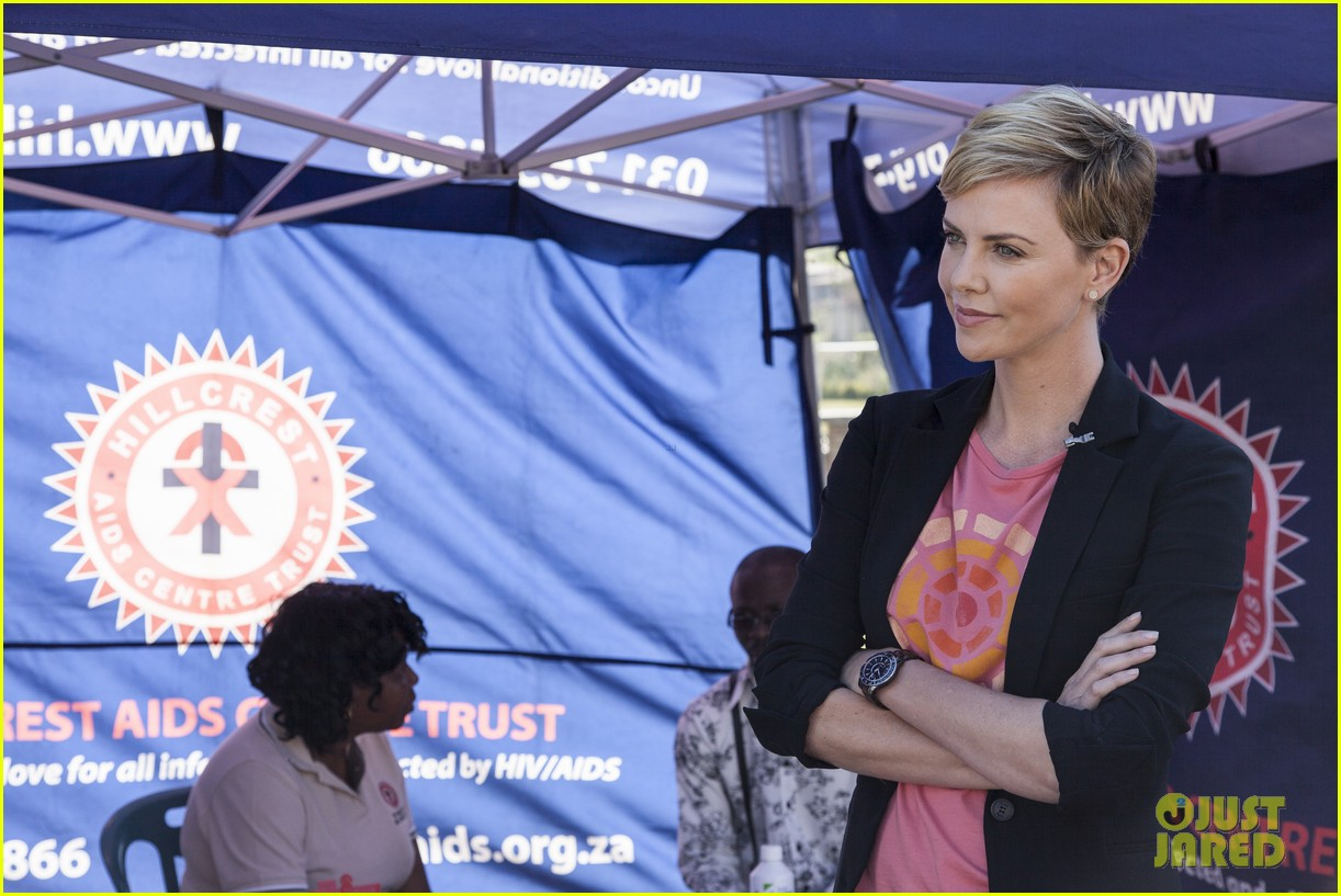 charlize theron visits youth ambassador project in south africa 012922283