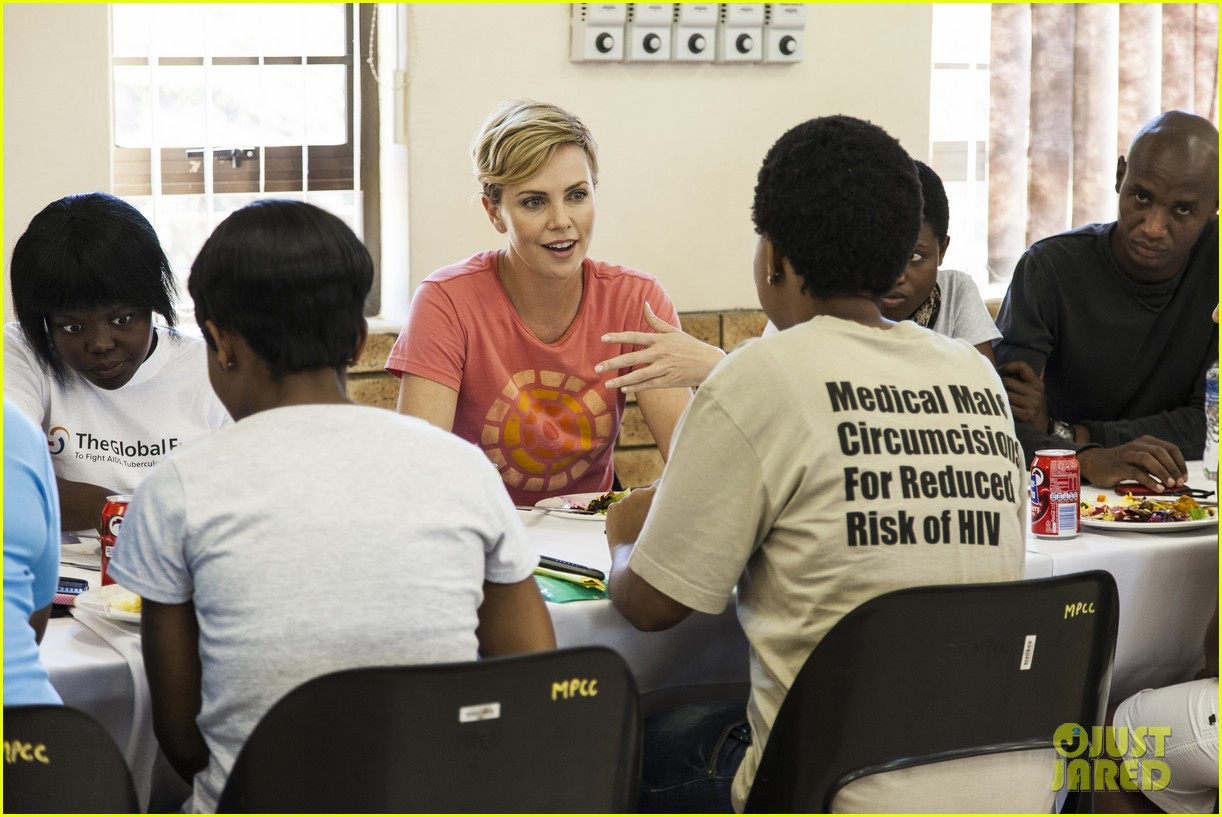 charlize theron visits youth ambassador project in south africa 022922284
