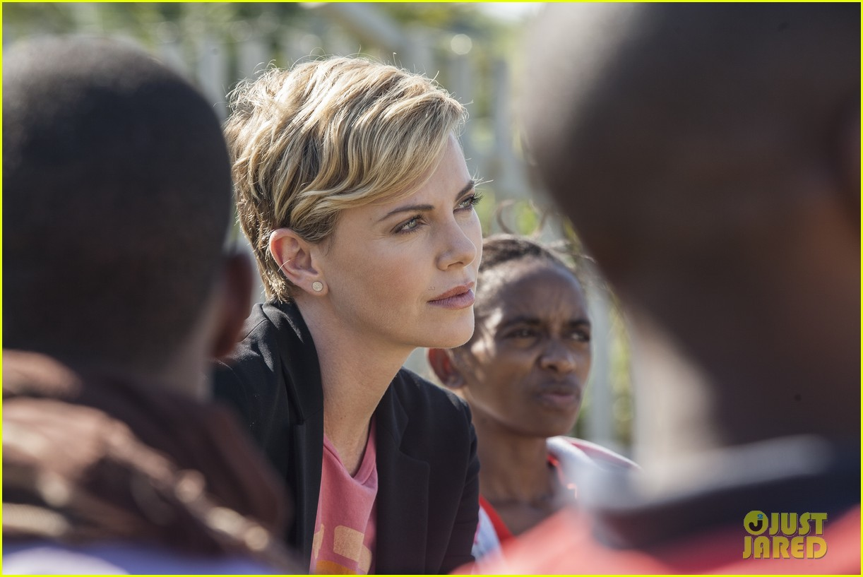 charlize theron visits youth ambassador project in south africa 032922285