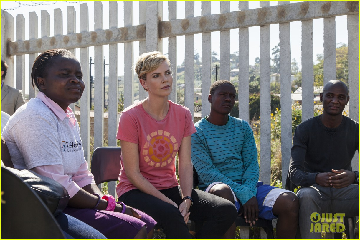charlize theron visits youth ambassador project in south africa 042922286