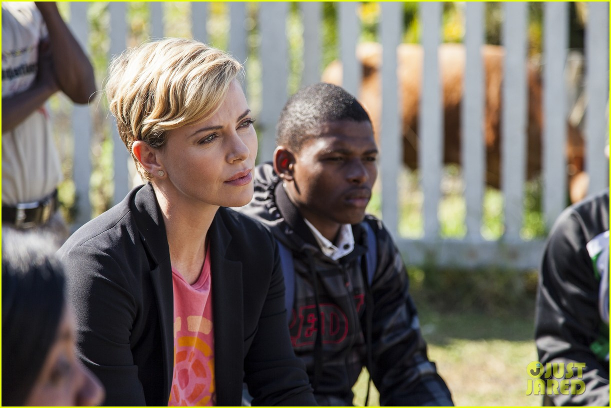 charlize theron visits youth ambassador project in south africa 102922292