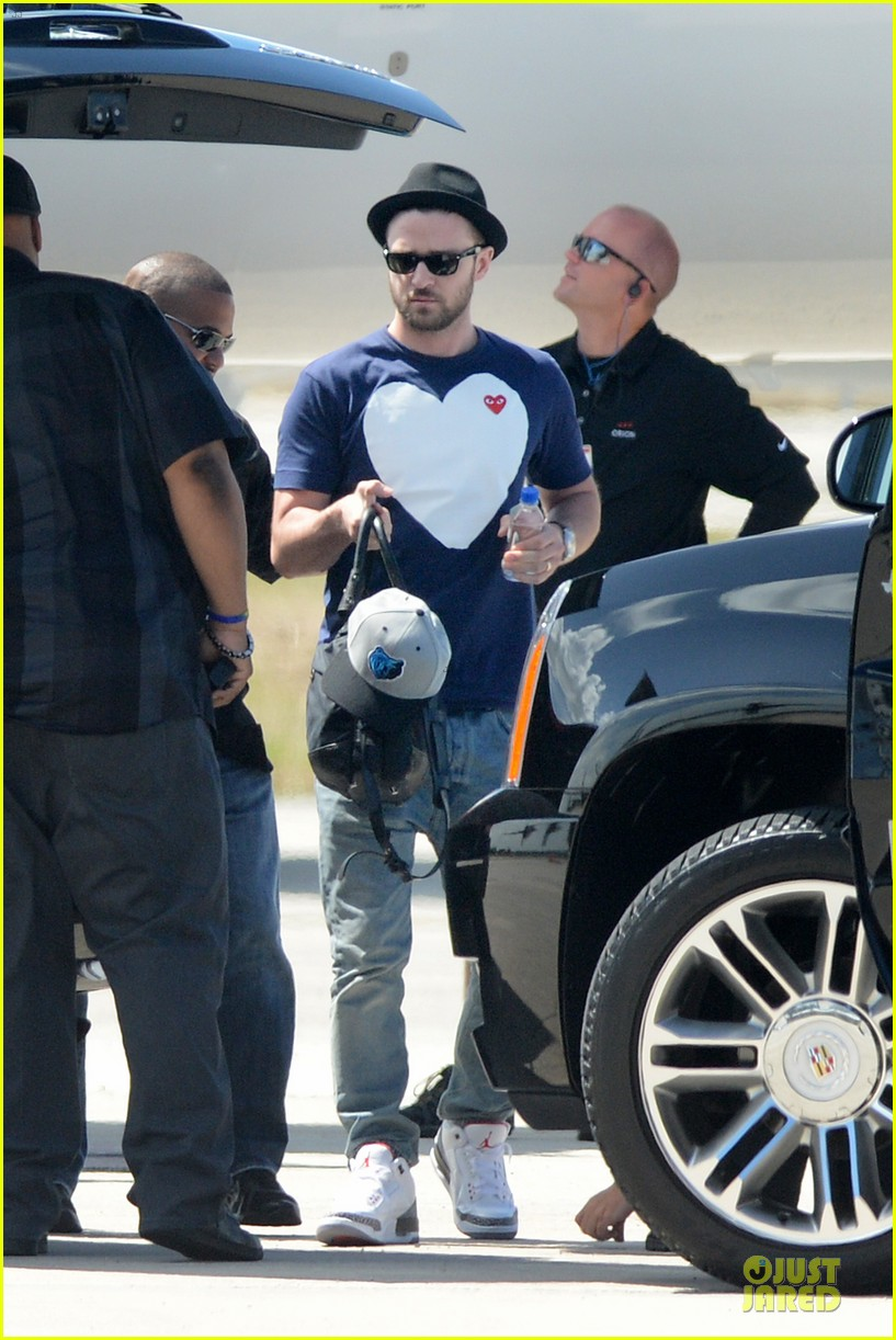 justin timberlake big heart flies to miami 07