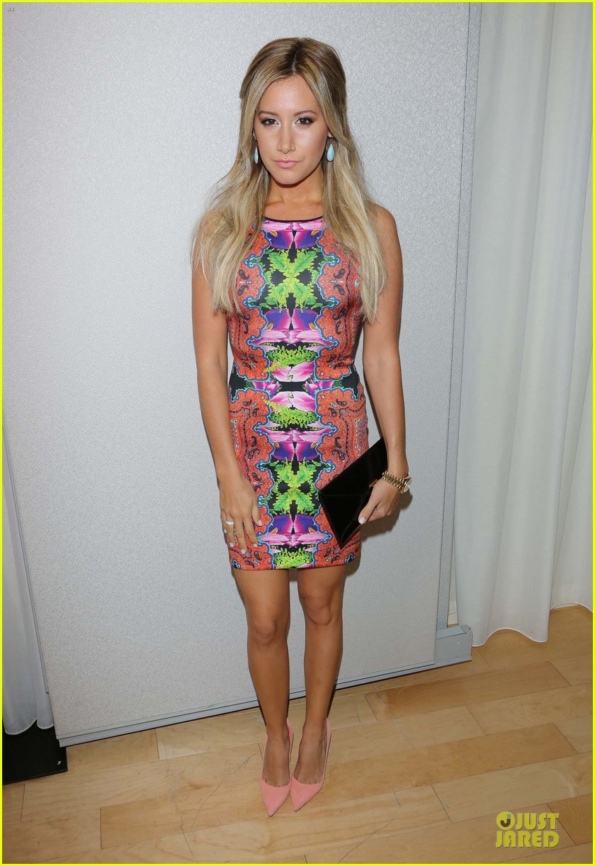 ashley tisdale christopher french engaged couple at instyle soiree 032930509