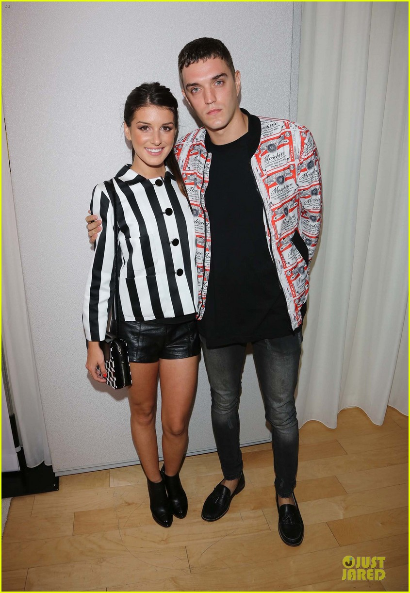 ashley tisdale christopher french engaged couple at instyle soiree 06