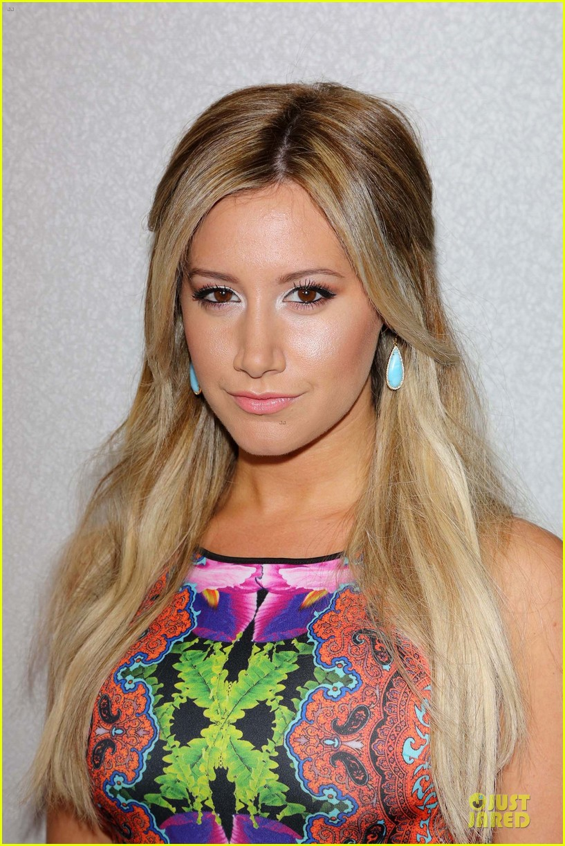 ashley tisdale christopher french engaged couple at instyle soiree 132930519