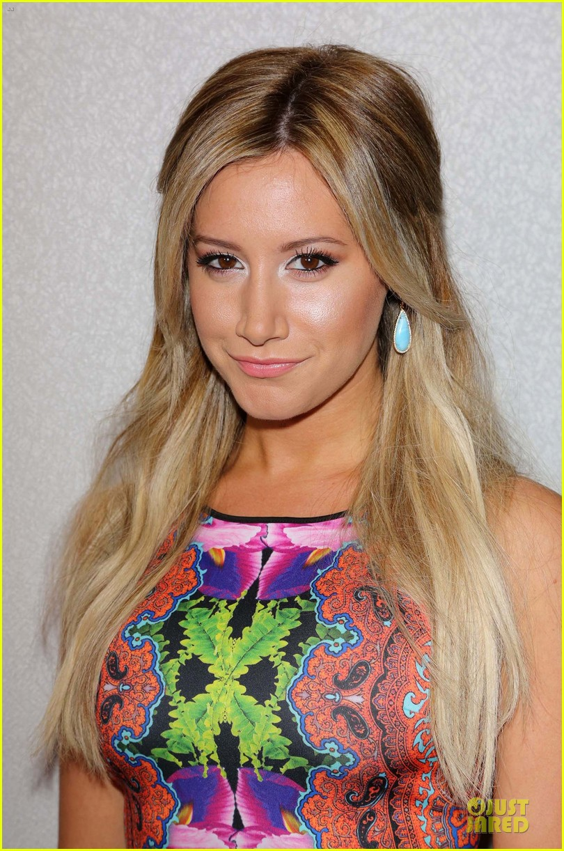 ashley tisdale christopher french engaged couple at instyle soiree 142930520