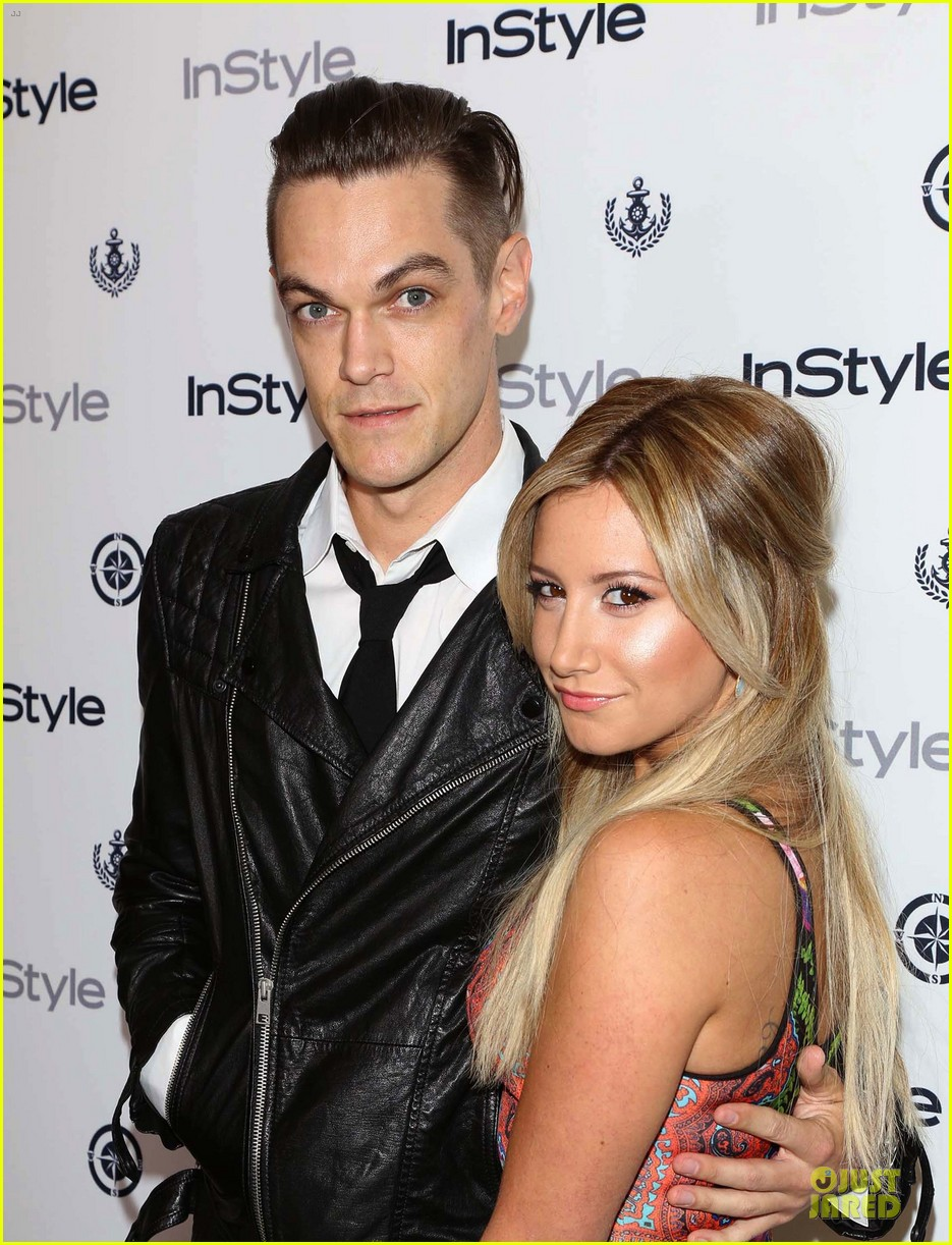 ashley tisdale christopher french engaged couple at instyle soiree 162930522