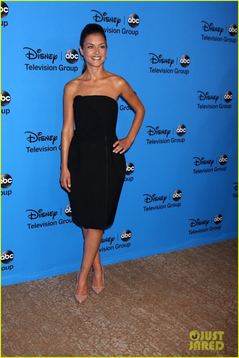 hannah ware camilla luddington abc tca party 26